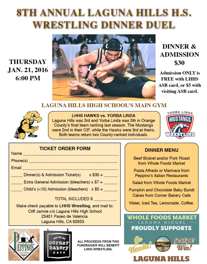 2015-16 Dinner Duel Flyer